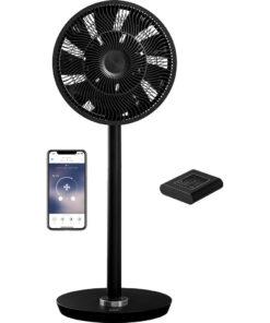 Duux Whisper Flex Smart Draadloos Zwart Statief ventilatoren