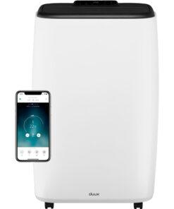 Duux North Smart 14K BTU/h Wit Airco's