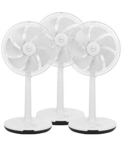 Fuave SV9010 Triple Pack Wit Statief ventilatoren