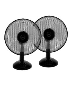 Fuave FV1010 Duo Pack Zwart Tafel ventilatoren