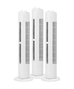 Fuave TV1010 Triple Pack Wit Toren ventilatoren